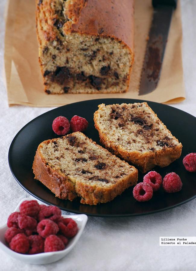 Cake Espelta Chocolate Pasos