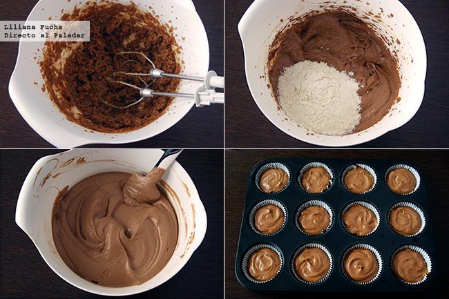 Cupcakes de Halloween. Pasos 1