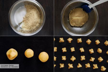 Pastas de Mazapan. Pasos