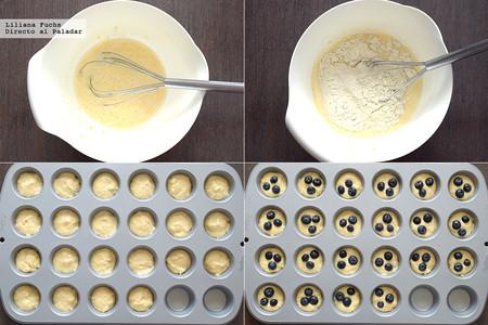 Mini Muffins Pasos