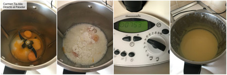 Paso A Paso Natillas Con Thermomix