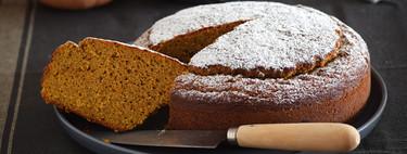 Bizcocho de calabaza asada sin gluten: receta fácil para una miga esponjosa y llena de sabor