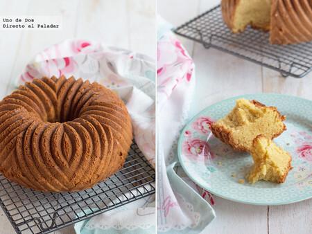 Bundt cake de nata