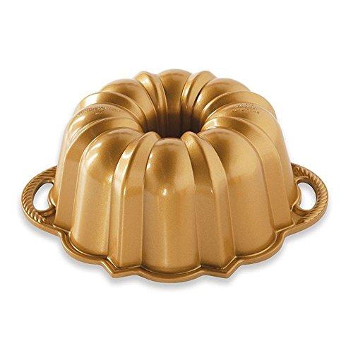 Nordic Ware Anniversary Bundt 6 tazas, oro