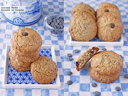 Galletas Crujientes De Avellana Y Chocolate