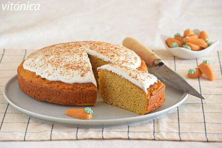 Carrot cake fitness proteico